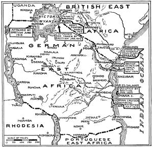 Map War Africa