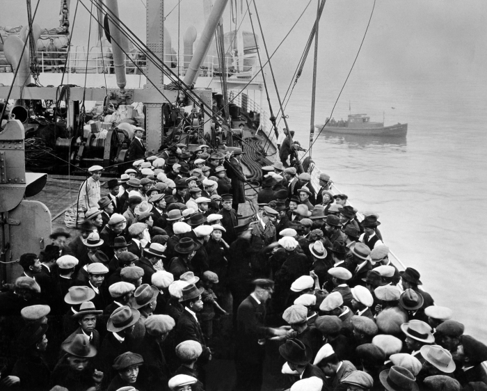 Immigrants arriving to the US