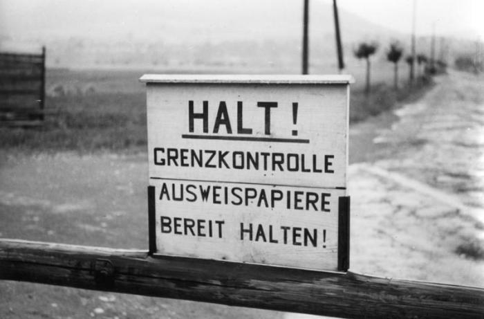 Deutsch-deutsche Grenze bei Heldra