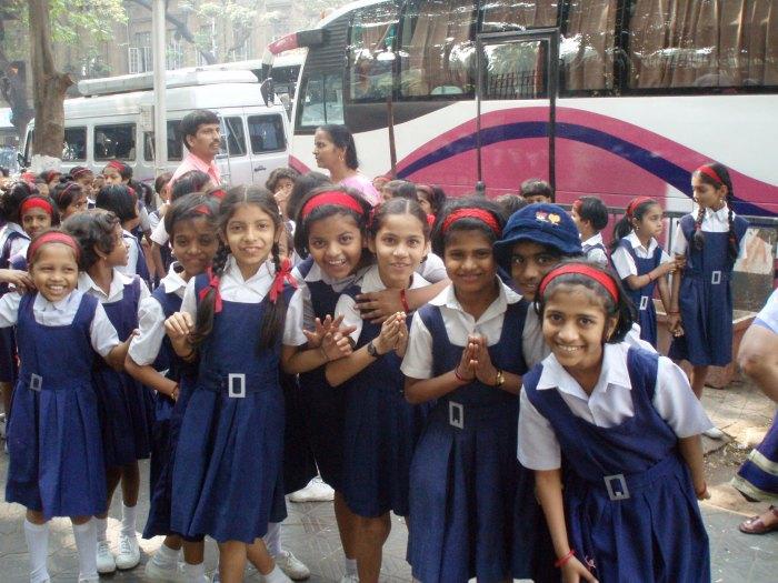 Écoliéres à Bombay