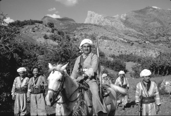 Mustafa Barzani 1970, ehemaliger Führer der Nationalbewegung in Kurdistan-Irak