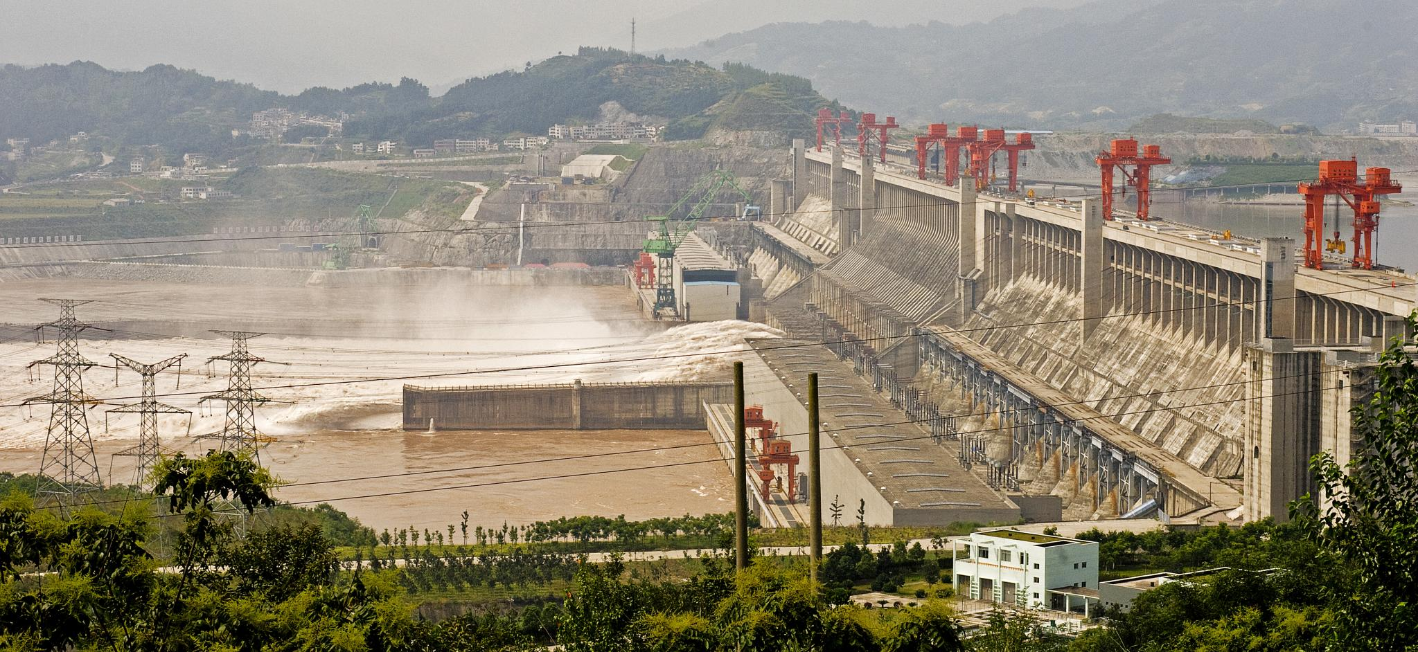 three gorges dam in chin essay What a controversial dam construction site in central china published collection of interviews and essays critical of the three gorges dam project sent.