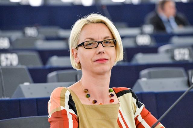 MEP Angelika Mlinar at Plenary session in Strasbourg - Week 24  2015  © European Union, 2015